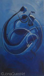 Blue Drummers #1