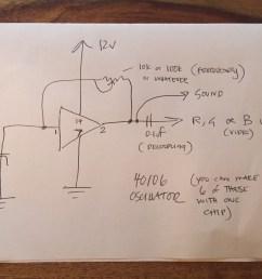 composite to vga schematic [ 3264 x 2448 Pixel ]