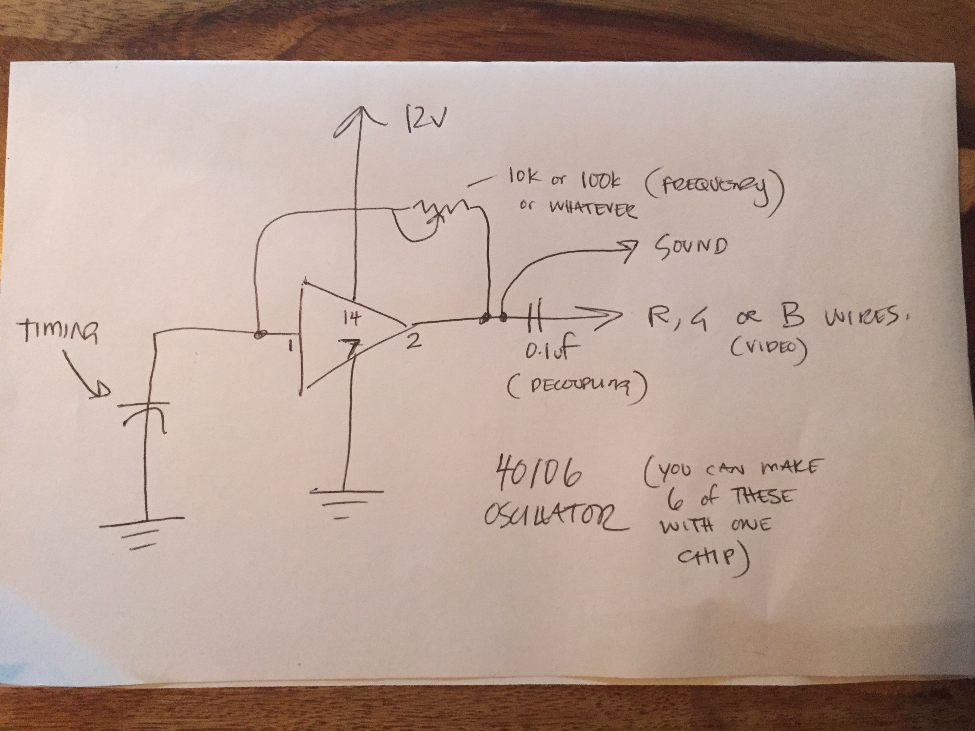 hight resolution of composite to vga schematic
