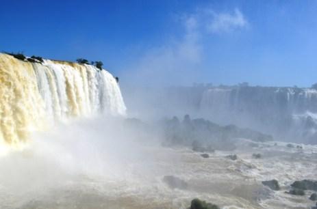 Vista parcial das Cataratas do Iguaçu. Foto: Lima, 2014