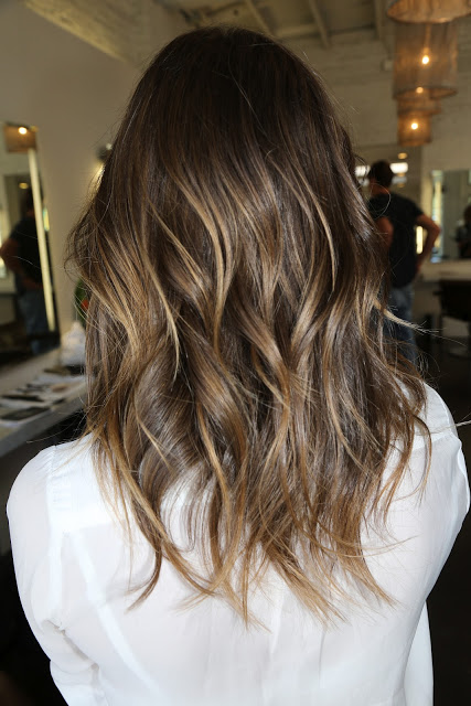 Brunette Hair With Subtle Highlights