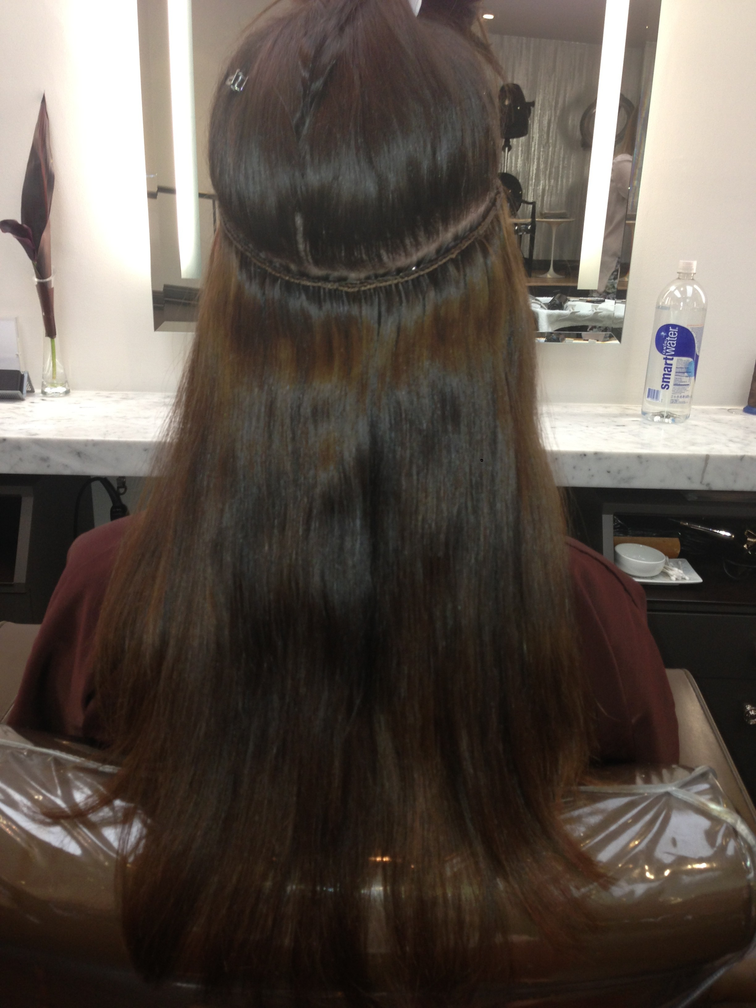 Before and After Natural Hair Extensions  JONATHAN  GEORGE