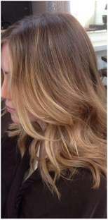 natural dark blonde highlights