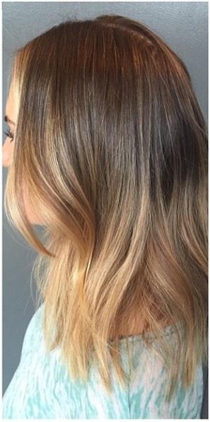 seamless bronde hair color