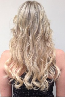 blonde hair color and extensions los angeles