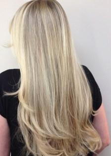 natural blonde highlights