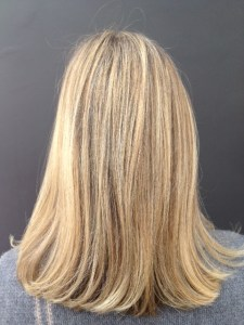 summer blonde highlights