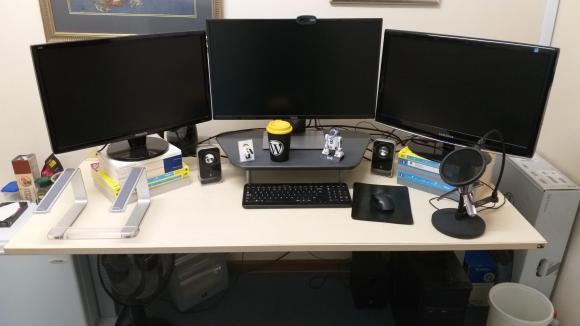 My November 2018 Workspace