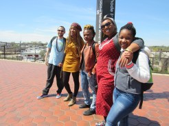Azania JBT with Poets at RIA