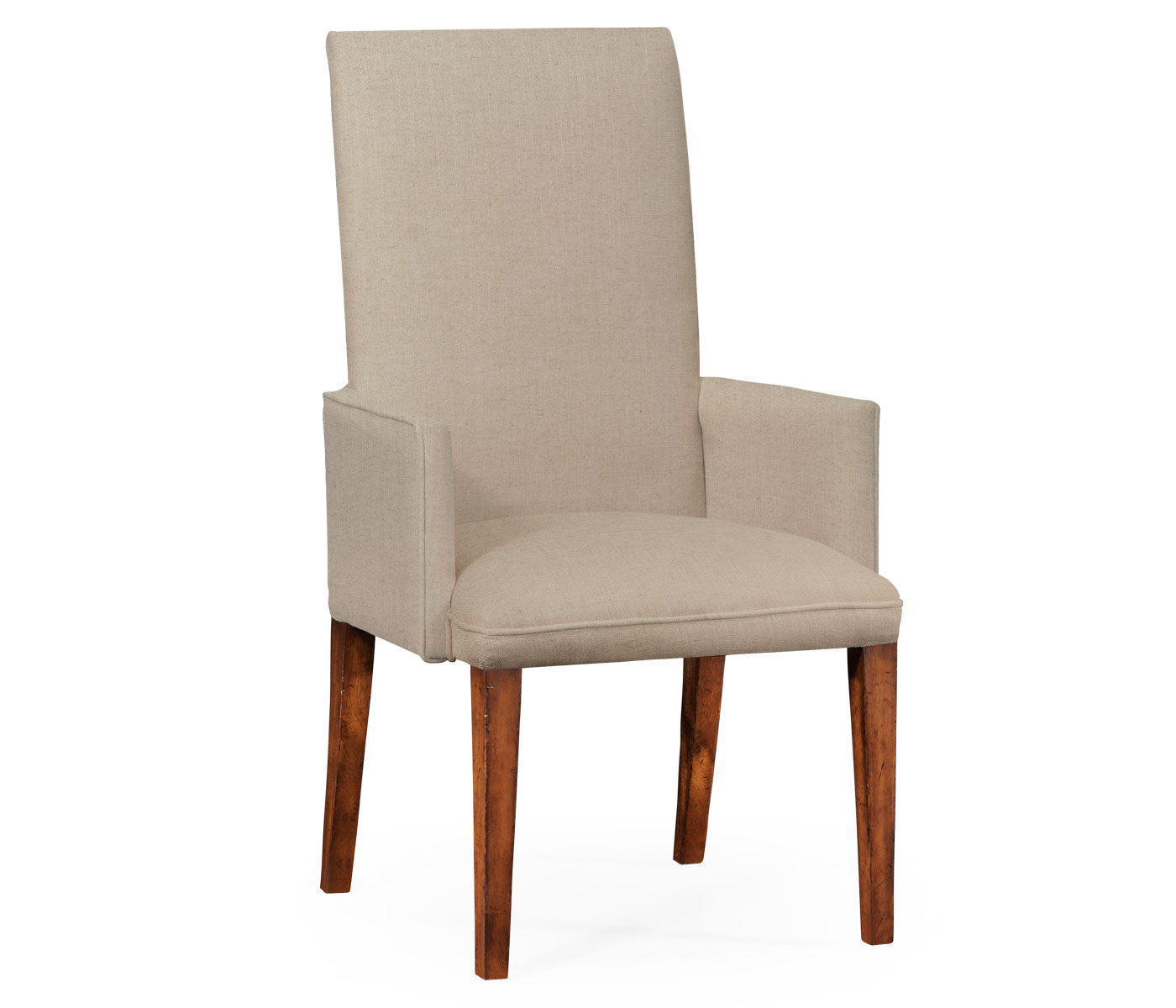 Upholstered Dining Chairs Fully Upholstered Dining Chair Arm