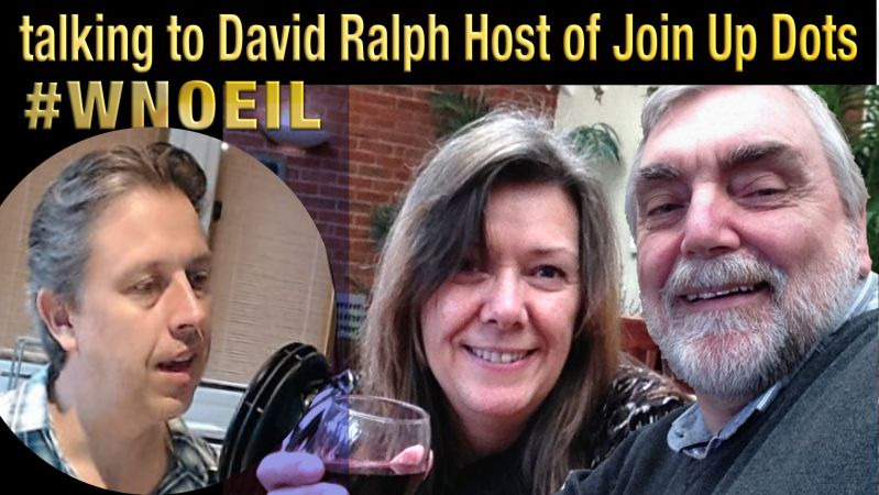 David Ralph host of Join Up Dots WNOEIL Podcast