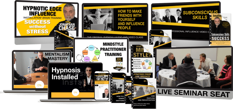 Prosuasion Hypnotic Edge Influence Jonathan Chase Hypnotist #subskills