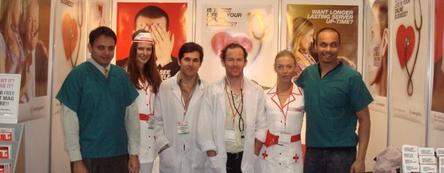 Netregistry at CeBIT: Nurses, marketing and controversy