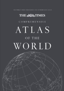 Book cover: The Times Comprehensive Atlas of the World, 13th Edition