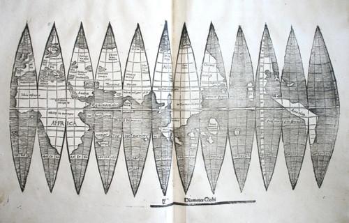 Waldseemueller globe gore