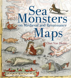 Book cover: Sea Montsers on Medieval and Renaissance Maps