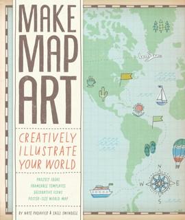 Book cover: Make Map Art