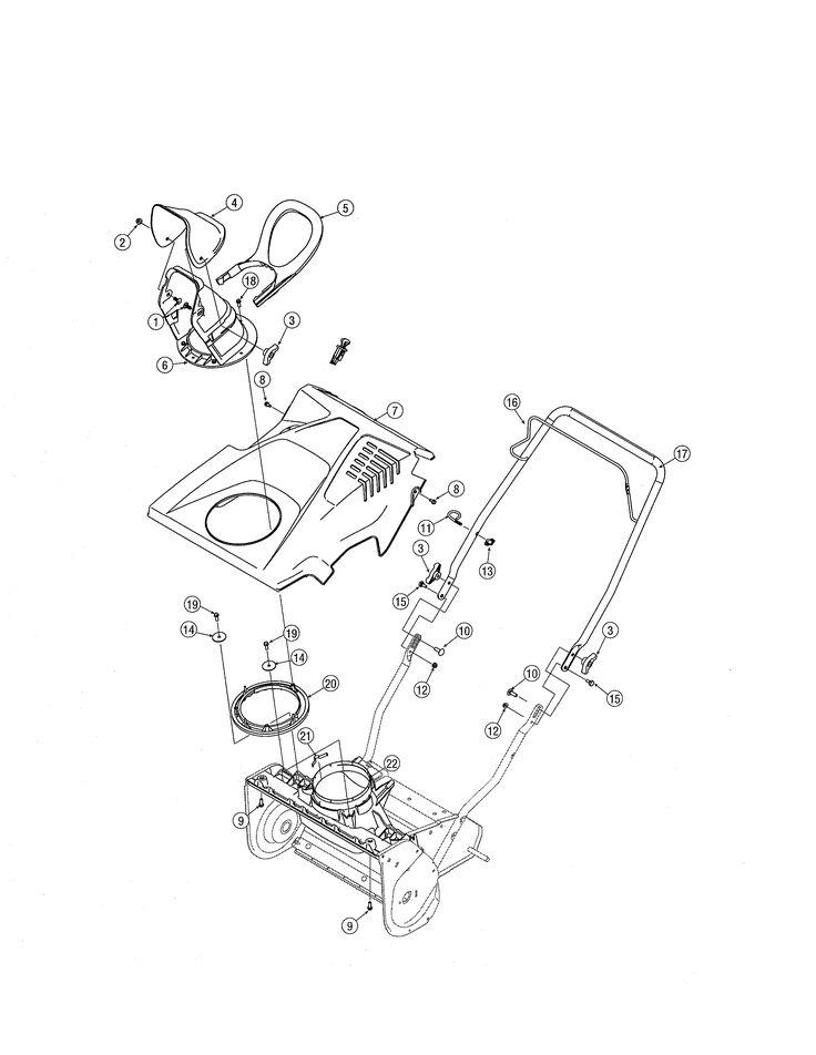Manual For Craftsman Snow Blower Model C459-52106