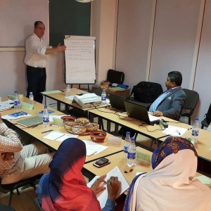 Training in Khartoum