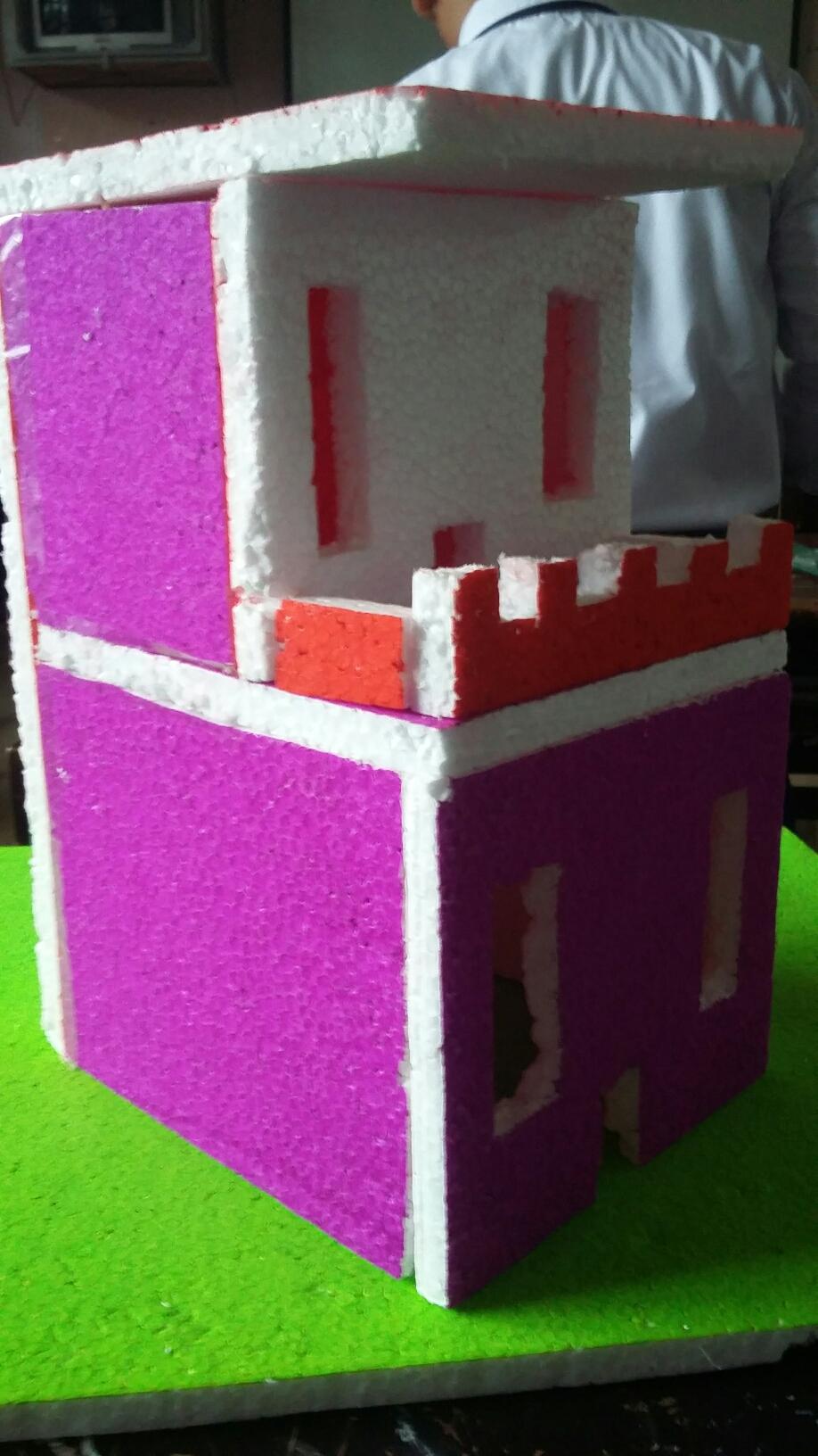 Cara Membuat Miniatur Gedung : membuat, miniatur, gedung, Miniatur, Rumah, Jonathan, Fedrico