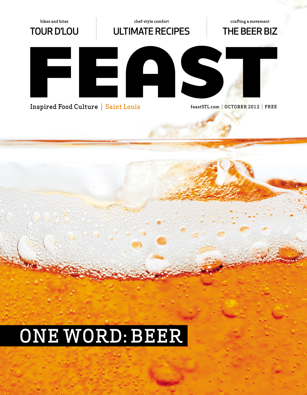 Feast Magazine - October 2012