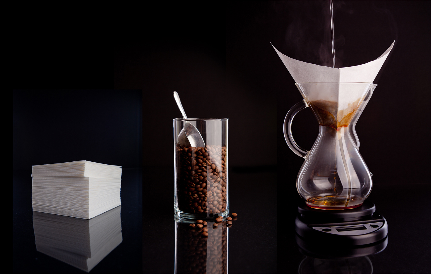 Brewing Coffee with Chemex