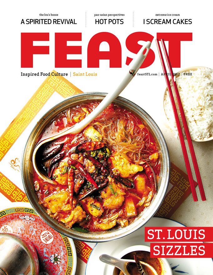 Feast Magazine, April 2012