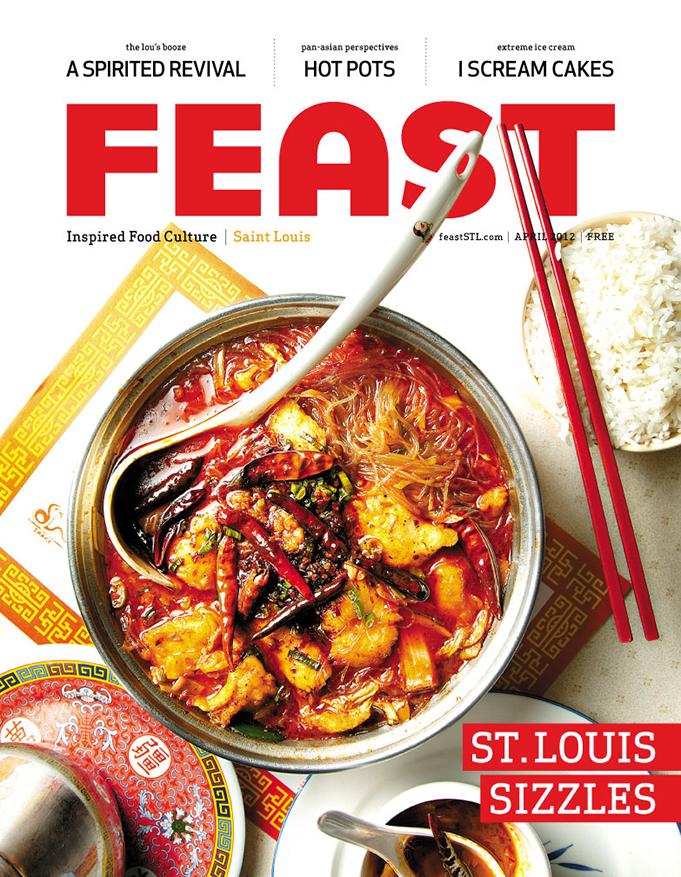 Feast Magazine, April 2012