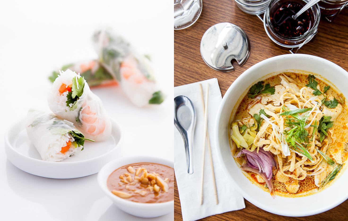 Shrimp Spring Rolls | Khao Soi