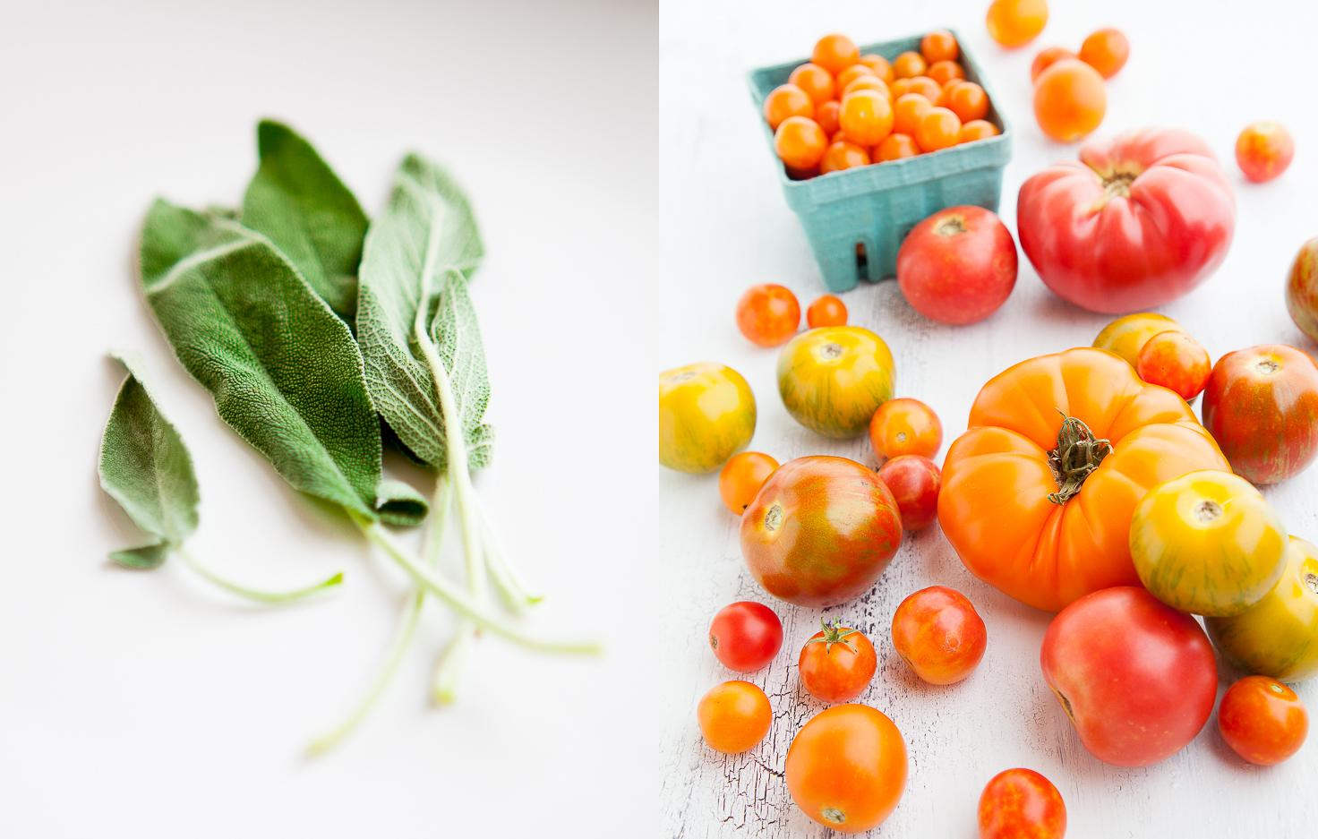Sage | Heirloom Tomatoes