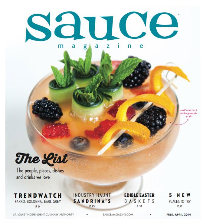 Sauce Magazine, April 2014