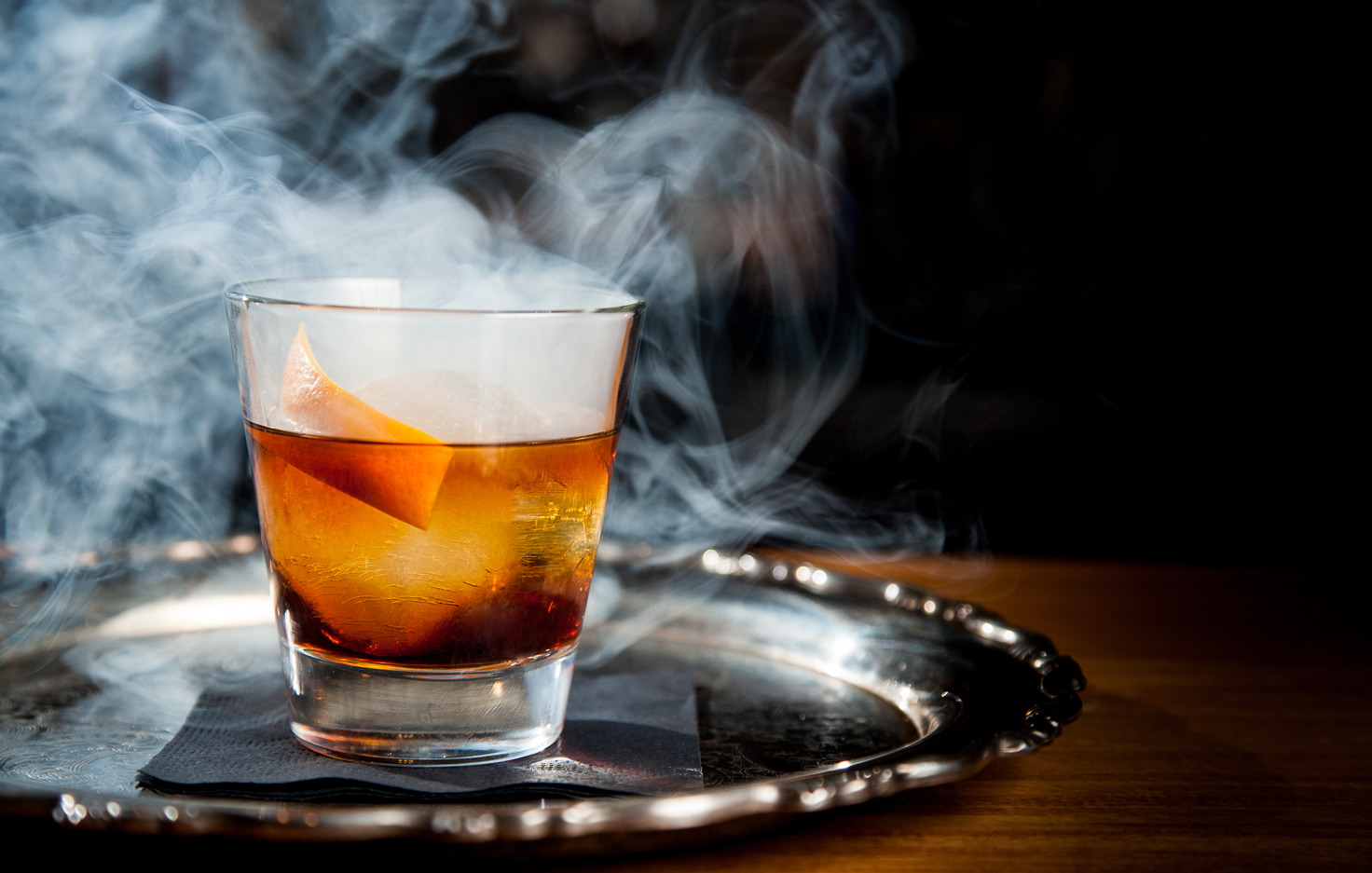 Smoked Wagon Cocktail