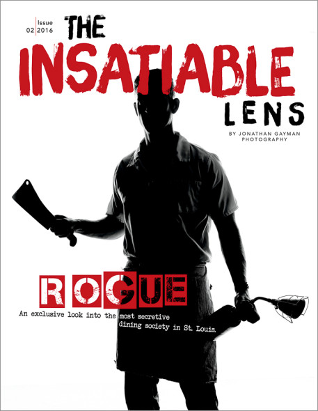 The Insatiable Lens is a food and photography magazine by St. Louis Photographer Jonathan Gayman.