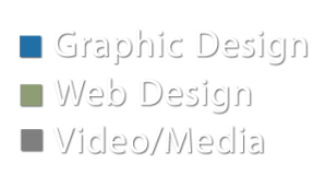 Graphic Design, Web Design, Video/Media