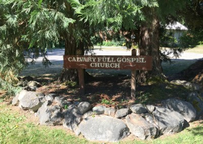 Church on Vashon, Website Design, Photography, non-profits, churches