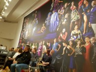 """Audience with monumental photograph """"The School of Nollywood"""""""