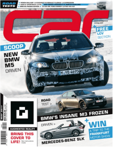 May Cover of Car Magazine