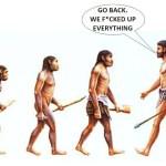 human-evolution-go-back