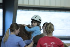 Savannah's horseback therapy