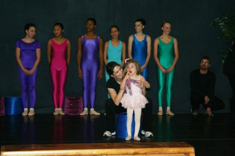 Savannah's ballet recital - Dancing Above the Barre
