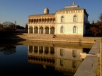 Sunset reflection in the Emir's Palace