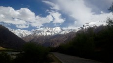 Mountains near Jelandy