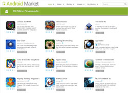 Last Day of Android Market 10 Billion Download 10 Cent Sale