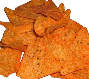 Nacho Cheesier flavor Doritos - Image via Wikipedia