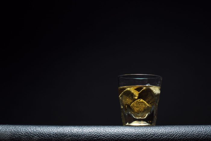 Whiskey glass photography