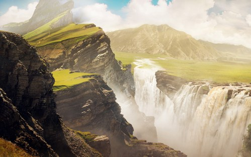 Animated Final Matte Painting
