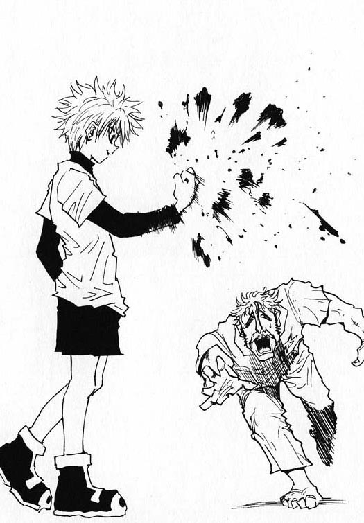 Killua Crying