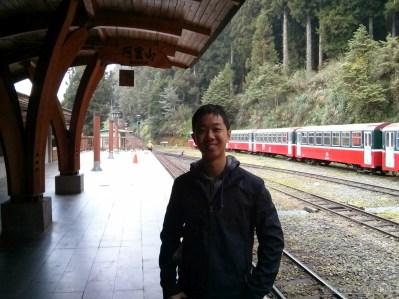 Alishan - train portrait
