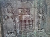 Angkor Archaeological Park - Bayon carvings 1