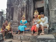 Angkor Archaeological Park - Bayon dancers